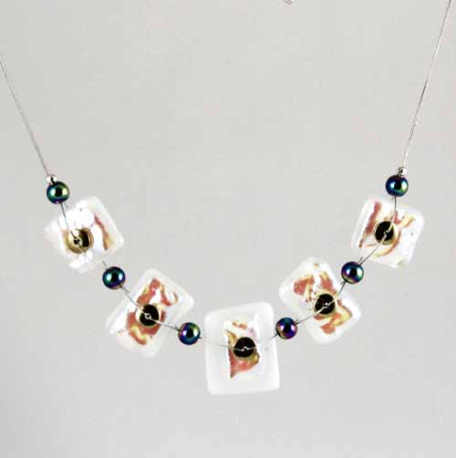 Dichroic necklace DN-11