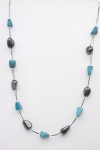 Turquoise necklace from Gracie Mae